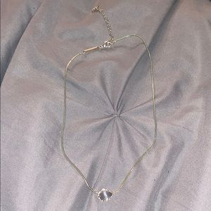 Kendra Scott Grey Necklace